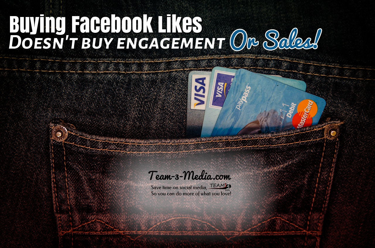 Buying Facebook Likes Doesn't Buy Engagement Or Sales