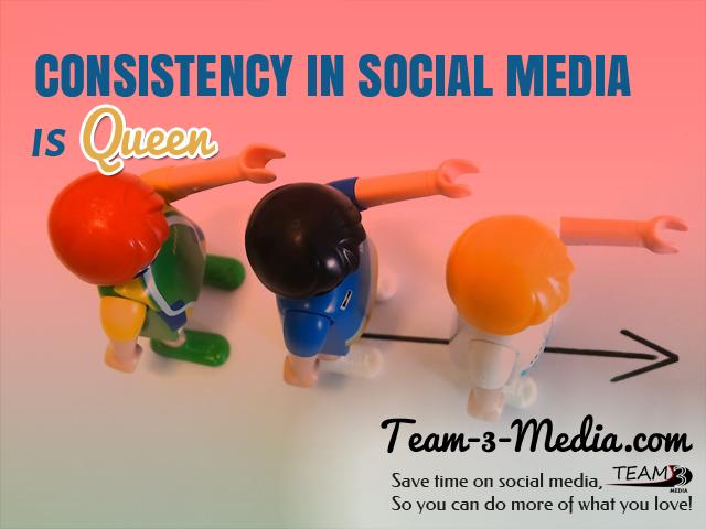 ConsistencyinSocialMediaisQueen