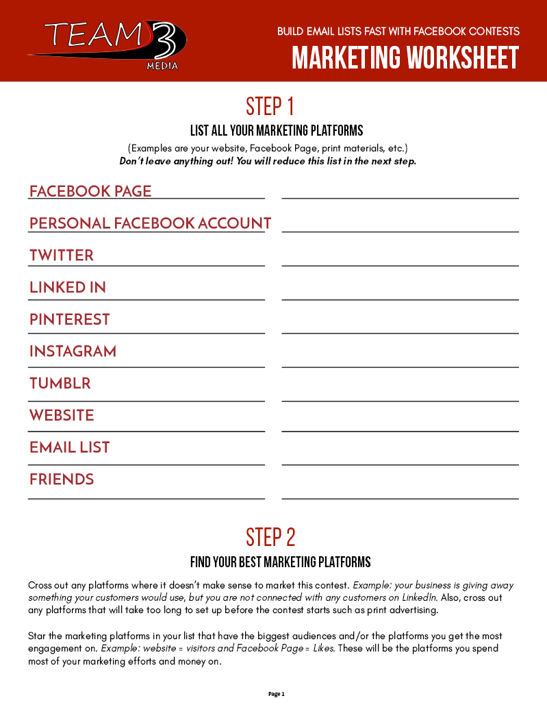 Which Platforms Work Best for Facebook Contest Marketing?